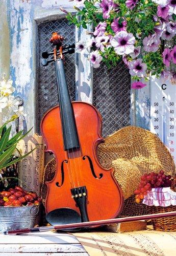 alles-meine.de GmbH Puzzle 1000 Teile - Violine Stillleben - Castorland Musikinstrument Geige Musik Streicher Musikschule / Noten
