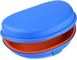 Headphones Carrying Case for Beats SOLO HD and More / Hard Shell Headset Travel Bag (Blue)