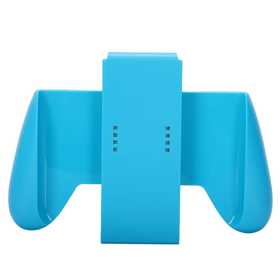 行商イタリアの割れ目CUHAWUDBA 1個 ハンドグリップスタンドホルダー ニンテンドースイッチコントローラー用ゲームパッド(ブルー)