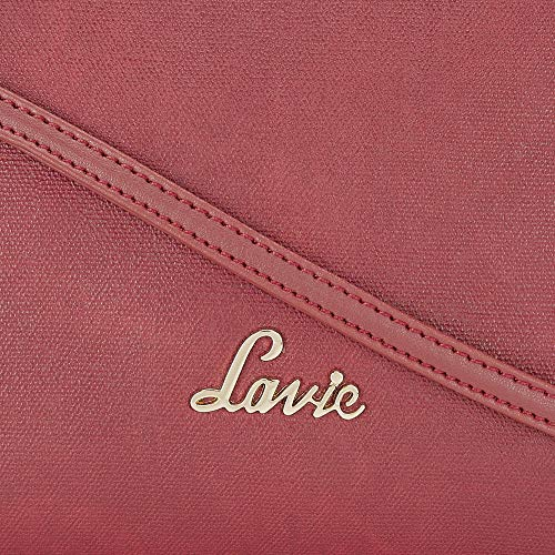 Lavie Moritz Smalll Saffiano Women's Sling Bag (Dk Red)