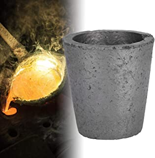 LTKJ 1KG Graphite Crucible Foundry Cup Furnace Torch Melting Casting Refining Gold Silver Copper Brass Aluminum Tool