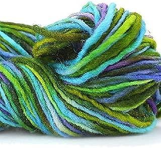 Manos Del Uruguay Wool Clasica 9796 Mermaid, 100g, Hand Dyed Yarn