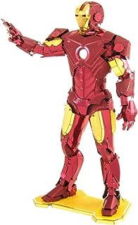 Fascinations Metal Earth Marvel Iron Man 3D Metal Model Kit
