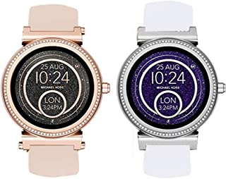 Compatible for Michael Kors Sofie Band, Blueshaw Sport Silicone Replacement Strap for Michael Kors Access Sofie Smartwatch