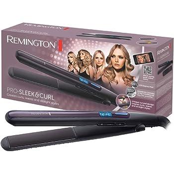 Remington Pro-Sleek & Curl Piastra per Capelli, da 150° a 230° C, Nero