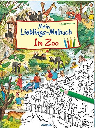 Mein Lieblings-Malbuch – Im Zoo