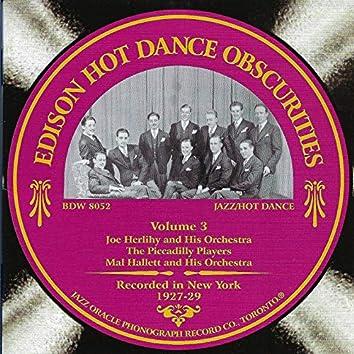 Edison Hot Dance Obscurities, Vol. 3