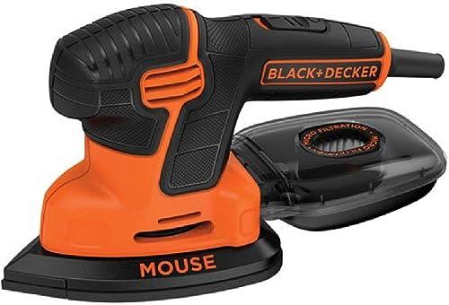 BLACK+DECKER Mouse Detail Sander Compact Detail (BDEMS600)