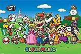 Empire Merchandising 668738 Nintendo, Super Mario Jump and Run Games-Póster con diseño de Luigi iMarkCase Sapo Wario, 91,5 x 61 cm de tamaño