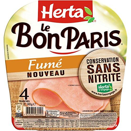 HERTA Le Bon Paris Jambon conservation sans nitrite fumé