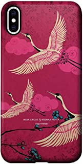 Macmerise IPCIXMPCR3958 Flying flamingoes - Pro Case for iPhone XS Max - Multicolor (Pack of1)