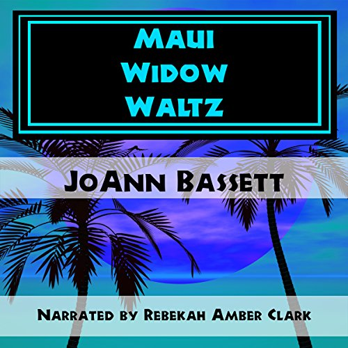 Maui Widow Waltz audiobook cover art