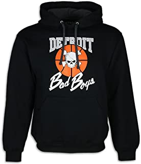 Detroit Pistons Bad Boys Apparel- Historic Men's Hooded Sweatshirt