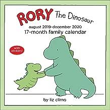 Rory the Dinosaur 17-Month 2019-2020 Family Wall Calendar