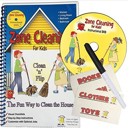 Zone Cleaning For Kids Clean N Flip