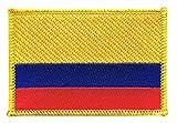 Flaggenfritze Flaggen Aufnäher Kolumbien Fahne Patch +