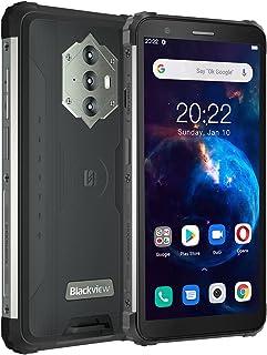 "Blackview BV6600 Teléfono Movil Resistente, 8580mAh Batería, 4GB+64GB(SD 128GB) Octa-Core, Pantalla 5.7""HD+, 16MP+8MP Cáma..."