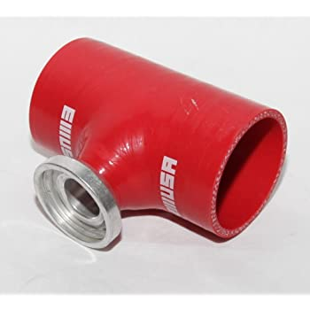 2.5 Turbo Blow Off Valve Aluminum Flange Adapter Pipe For Type-SQV Bov