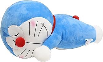 MORIPiLO モリシタ ドラえもん 抱き枕 ブルー 添い寝枕 小学館 46x28x24cm