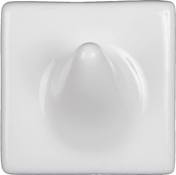 Ceramic Single Wash Cloth Hook Tile Shelf Niche