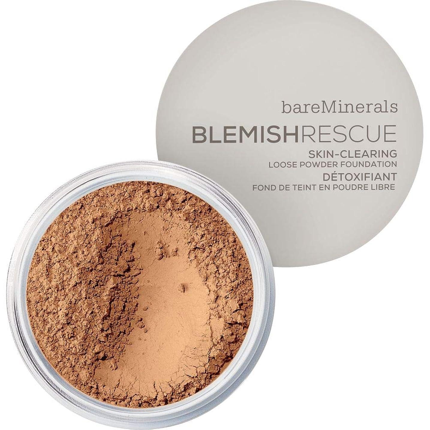 カール険しい悪の[bareMinerals ] ベアミネラル傷レスキュースキンクリア緩いパウダーファンデーションの6グラムの4N - 中立たん - bareMinerals Blemish Rescue Skin-Clearing Loose Powder Foundation 6g 4N - Neutral Tan [並行輸入品]