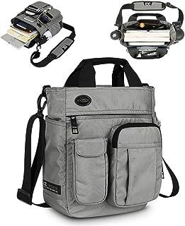 Acoki Mens Shoulder Bag,Multi-functional Crossbody Messenger Bag Business Satchel Sling Travel iPad Documents Briefcase (G...