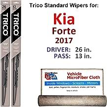 Best 2017 kia forte wiper blade size Reviews