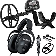 Garrett AT PRO withPROformance DD Submersible Coil, Coil Cover & MS-2 Stereo Headphones