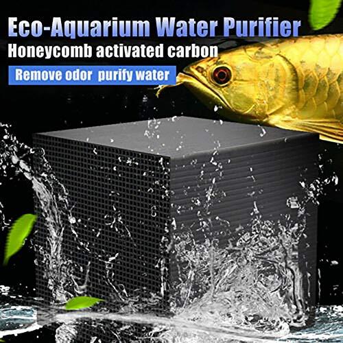 ELEDUCTMON Eco-Aquarium Water Purif…