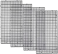 セパレート 水槽 仕切り板 30x15cm 4点セット ブラック