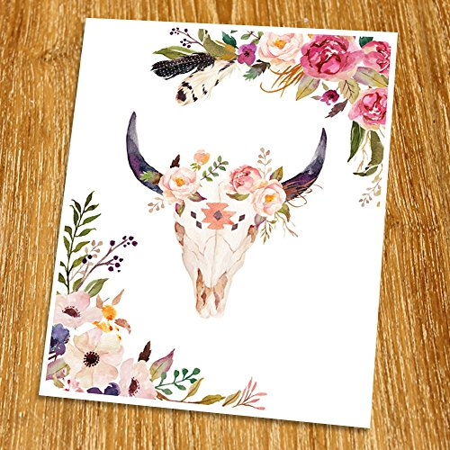Top 10 bull skull wall decor flowers for 2020