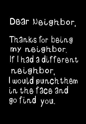 Amazon.com: neighbor quotes: Books