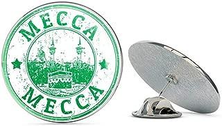 Mecca Saudi Arabia Round Metal 0.75