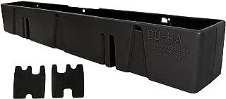 DU-HA Behind-the-Seat Storage Fits 08-16 F-250 thru F-550 Super Duty Crew Cab & Regular Cab, Black, Part #20054