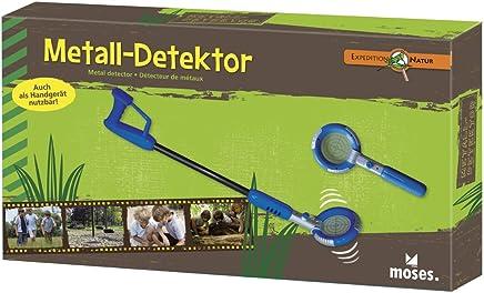 moses Expedition Natur 9625 - Detector de Metales (31 a 74 cm, Pilas Incluidas) [Importado de Alemania]