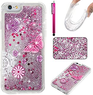 iPhone 6/6S Case, Firefish Slim Dynamic Flowing [Anti-Slip] Flexible TPU [Scratch Resistances] Protective Cover for Girls Children Fits for Apple iPhone 6/6S 4.7