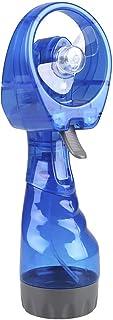 VerneAnn Mini Ventilador Batería plástico Refrigeración Nebulización Viaje Portátil Agua cío Niebla Mano(Azul)