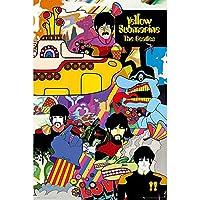 BEATLES ビートルズ (来日55周年記念) - Yellow Submarine/ポスター 【公式/オフィシャル】