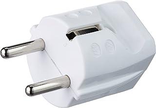 Meister Geaarde stekker - kunststof - wit - 250 V - 16 A - maximale kabeldoorsnede 2,5 mm² - IP20 binnenruimte - rechte in...