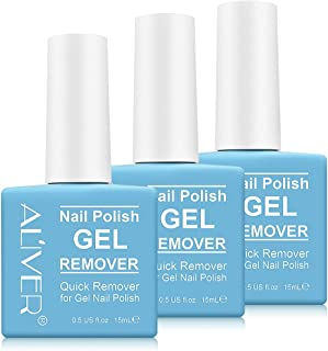 Magic Gel Nail Polish Remover, Professional Removes Soak-Off Gel Polish Remover, For Nail Art Lacquer, Easily & Quickly, D...