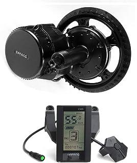 comprar comparacion Bafang 250W Mid Drive BBS01B 36V Ebike Mid Motor Conversion Kit con batería incluida Pantalla LCD y Cargador Opcionales de...