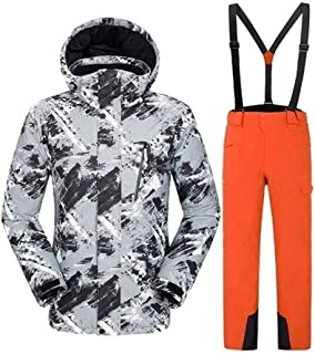 UICICI Caliente Traje de Invierno Ski Set Hombres a Prueba ...