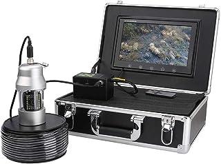 Fish Finders Buscador de Peces, Pantalla de 10 Pulgadas para la Pesca en el océano/Hielo/Lago, 20pcs LED Blancos + 18pcs l...