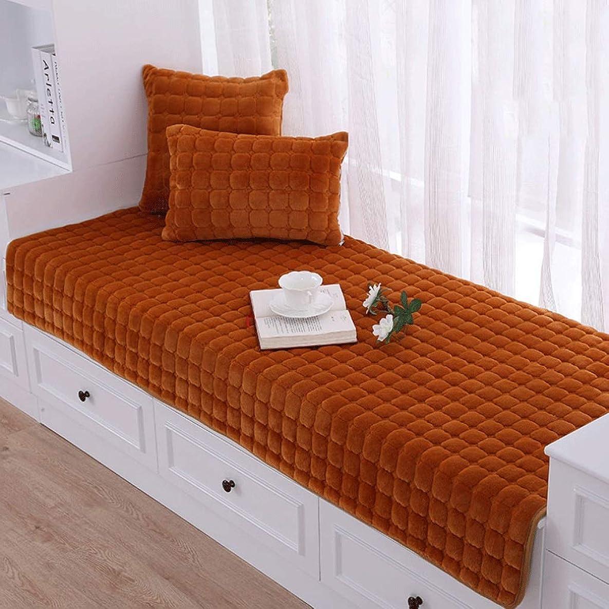 テント重荷哲学者窓枠クッション/リビングルーム寝室のぬいぐるみ滑り止めベンチパッド/バルコニー畳/ソファースリッパ/フォーシーズンズユニバーサル (Color : H, Size : 70×160CM)