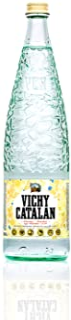 Vichy Catalan - Sparkling Mineral Water - 33.8 oz (1 Liter) (6 Glass Bottles)