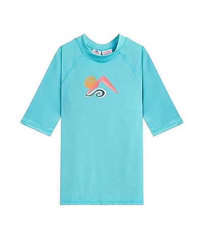 Kanu Surf Jade UPF 50+ Sun Protective Rashguard Swim Shirt (Toddler)