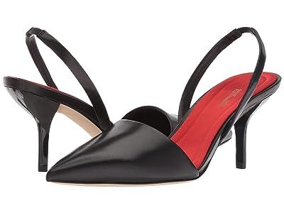 Diane von Furstenberg Mortelle (Black Leather) Women