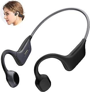 $49 » Sponsored Ad - DGwear Open-Ear Wireless Bone Conduction Headphones Bluetooth 5.0 with Sport Belt, IP67 RatedTitanium, Ligh...