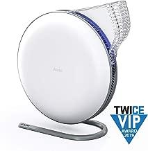 IQAir [Atem Desk Personal Air Purifier [HyperHEPA Filter] Allergies, Pets, Asthma, Pollen, Dust; Swiss Made (White)