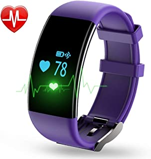 YOUNGFUN Fitness Tracker, Activity Tracker Watch with Heart Rate Monitor, Waterproof IPX8 with Step Counter, Calorie Counter, Pedometer Watch, Compatible with Android iOS